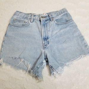 [GAP] Vintage High Waisted Jean Shorts